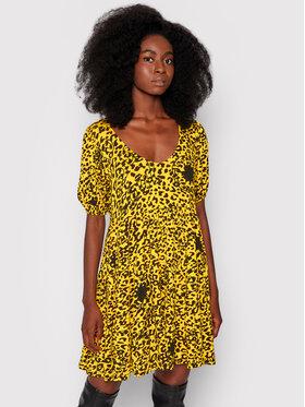 Desigual Desigual Ежедневна рокля Akrom 21WWVK35 Жълт Regular Fit