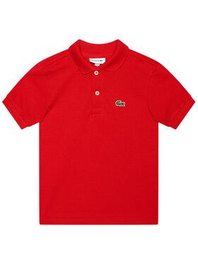 Lacoste Lacoste Тениска с яка и копчета PJ2909 Червен Regular Fit