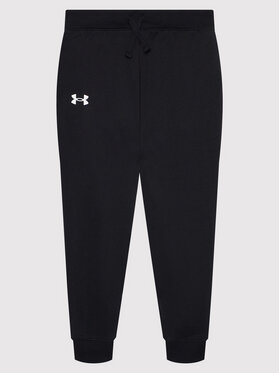Under Armour Under Armour Παντελόνι φόρμας Ua Rival Cotton 1357634 Μαύρο Loose Fit