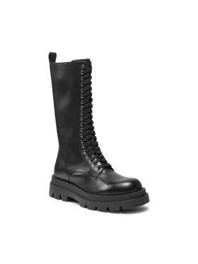 TWINSET TWINSET Μπότες Anfibio 212TCP230 Μαύρο