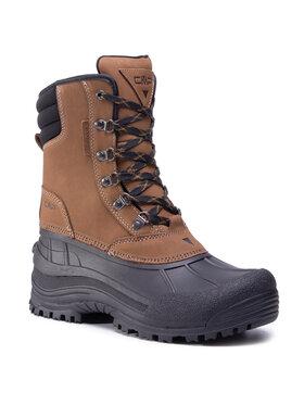 CMP CMP Μπότες Χιονιού Kinos Snow Boots Wp 3Q48867 Καφέ