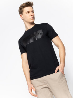 Trussardi Jeans Trussardi Jeans T-shirt 52T00312 Nero Regular Fit