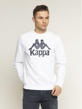 Kappa Kappa Sweatshirt Sertum 703797 Weiß Regular Fit
