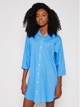 Lauren Ralph Lauren Lauren Ralph Lauren Noční košile ILN32055 Modrá