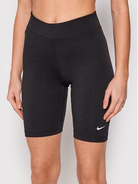 Nike Nike Szorty rowerowe Sportswear Essential CZ8526 Czarny Slim Fit
