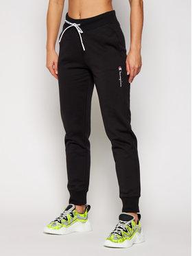 Champion Champion Pantalon jogging Script Logo Fleece 113191 Noir Regular Fit