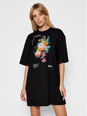 MSGM MSGM Kleid für den Alltag 3041MDA69 21729 Schwarz Regular FIt