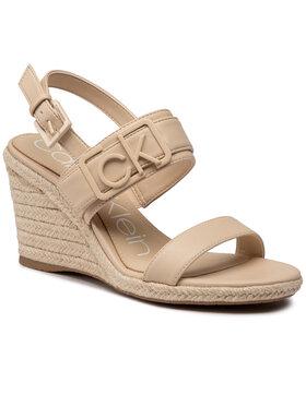 Calvin Klein Calvin Klein Espadrilės Belora B4E7994 Smėlio