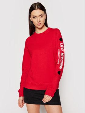 LOVE MOSCHINO LOVE MOSCHINO Sweatshirt W630219E 2180 Rouge Regular Fit