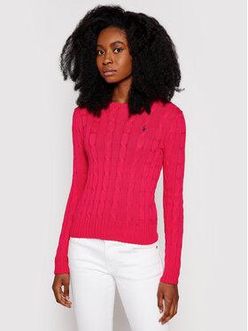Polo Ralph Lauren Polo Ralph Lauren Sveter Lsl 211580009090 Ružová Regular Fit