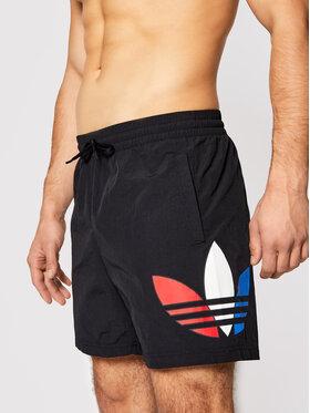 adidas adidas Pantaloni scurți pentru înot Tricol Swims GN3568 Negru Regular Fit