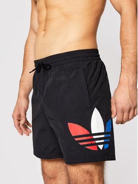 adidas adidas Úszónadrág Tricol Swims GN3568 Fekete Regular Fit