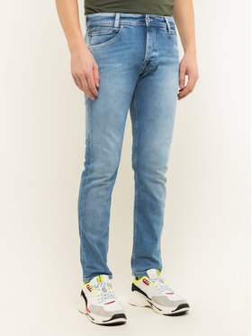 Pepe Jeans Pepe Jeans Jeansy Slim Fit Spike PM200029 Modrá Slim Fit