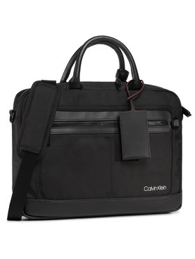 Calvin Klein Calvin Klein Nešiojamo kompiuterio krepšys Laptop Bag W/Pckt K50K505930 Juoda