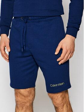 Calvin Klein Underwear Calvin Klein Underwear Pantalon scurți din material 000NM2168E Bleumarin Regular Fit