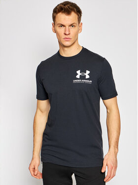 Under Armour Under Armour T-shirt Ua Performance 1357174 Crna Loose Fit