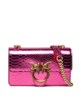 Pinko Pinko Дамска чанта Love Mini Icon Mirror Je Cl. AL 21-22 PLTT 1P22CX Y7GB Розов