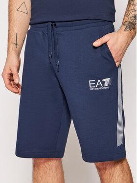 EA7 Emporio Armani EA7 Emporio Armani Pantaloni scurți sport 3KPS67 PJ05Z 1554 Gri Regular Fit