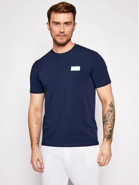 Guess Guess T-shirt U1GA35 J1311 Tamnoplava Regular Fit