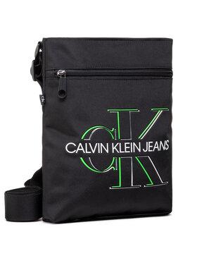 Calvin Klein Jeans Calvin Klein Jeans Мъжка чантичка Flatpack W/Front Zip Glow K50K506347 Черен