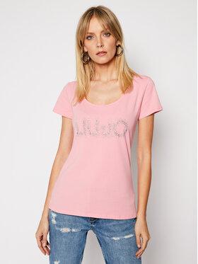 Liu Jo Liu Jo T-Shirt WA1060 J5003 Růžová Slim Fit