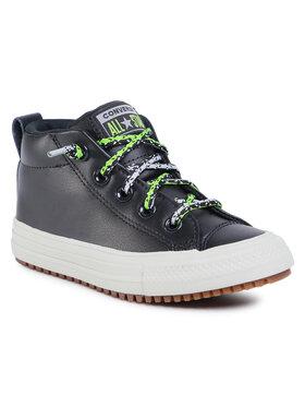 Converse Converse Sneakersy Ctas Street Boot Mid 668489C Tmavomodrá