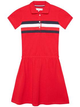 Tommy Hilfiger Tommy Hilfiger Kleid für den Alltag KG0KG05637 M Rot Regular FItq