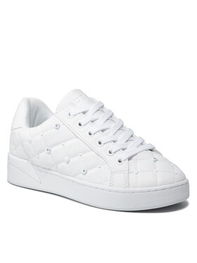 Guess Guess Sneakersy FL8BEE ELE12 Biela
