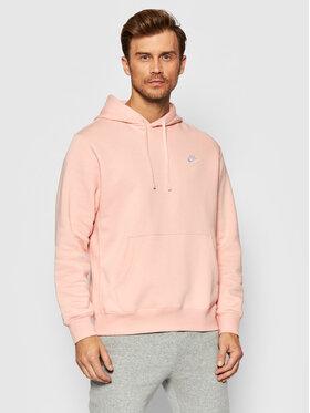 Nike Nike Mikina Sportswear Club Fleece BV2654 Růžová Standard Fit