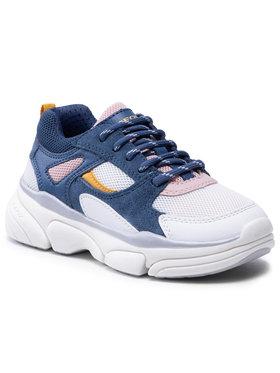 Geox Geox Sneakersy J Lunare G. D J02BGD 01422 C4242 S Granatowy
