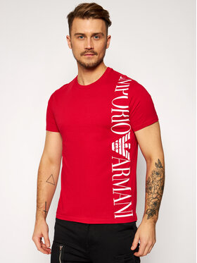 Emporio Armani Emporio Armani T-shirt 211831 1P469 06574 Rouge Regular Fit