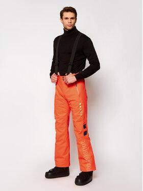 Rossignol Rossignol Spodnie narciarskie Hero Course RLIMP20 Pomarańczowy Slim Fit