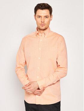 Eton Eton Marškiniai 937559596 Oranžinė Slim Fit