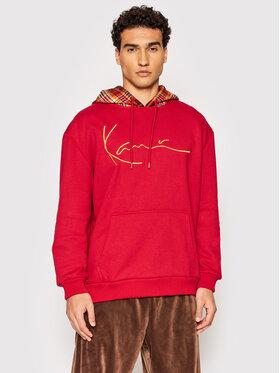 Karl Kani Karl Kani Bluza Signature Patch 6093662 Czerwony Regular Fit