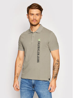 Calvin Klein Jeans Calvin Klein Jeans Polo J30J317101 Siva Regular Fit