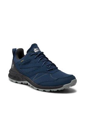 Jack Wolfskin Jack Wolfskin Παπούτσια πεζοπορίας Woodland Texapore Low M 4039211 Σκούρο μπλε