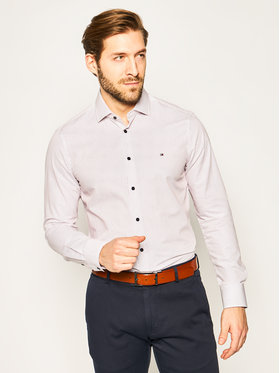 Tommy Hilfiger Tailored Tommy Hilfiger Tailored Риза Print Classic TT0TT07306 Цветен Slim Fit