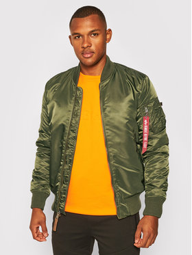 Alpha Industries Alpha Industries Kurtka bomber Ma-1 Vf 59 168100 Zielony Slim Fit