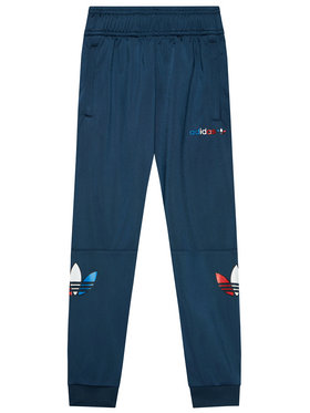 adidas adidas Jogginghose adicolor GN7444 Dunkelblau Regular Fit