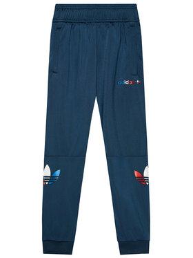 adidas adidas Teplákové kalhoty adicolor GN7444 Tmavomodrá Regular Fit