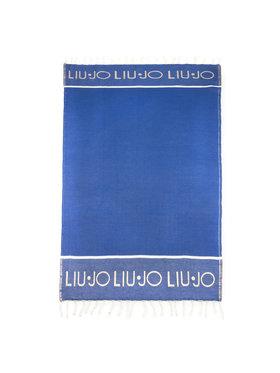 Liu Jo Liu Jo Ręcznik Telo Franhe V19112 T0300 Niebieski