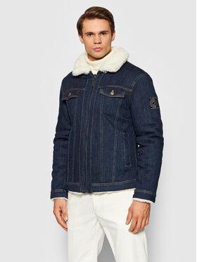 Guess Guess Kurtka jeansowa Denim Sherpa M1BL53 WE800 Granatowy Regular Fit