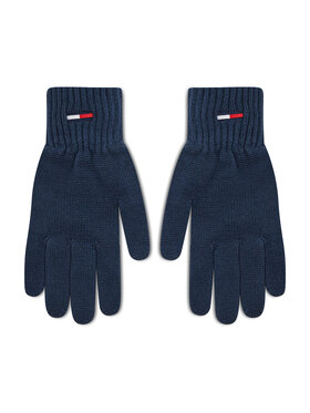 Tommy Jeans Tommy Jeans Pánské rukavice Tjm Basic Gloves AM0AM07937 Tmavomodrá