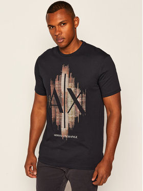 Armani Exchange Armani Exchange T-Shirt 6HZTFG ZJH4Z 1510 Dunkelblau Regular Fit