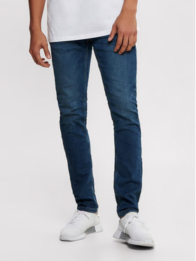 Only & Sons ONLY & SONS Дънки Loom 22008472 Тъмносин Slim Fit