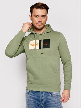 Jack&Jones Jack&Jones Sweatshirt Joshuas Sweat 12185697 Grün Regular Fit