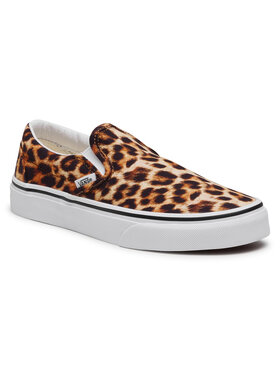 Vans Vans Sneakers aus Stoff Classic Slip-On VN0A5AO83I61 Braun