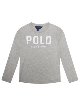Polo Ralph Lauren Polo Ralph Lauren Блуза 313806102002 Сив Regular Fit