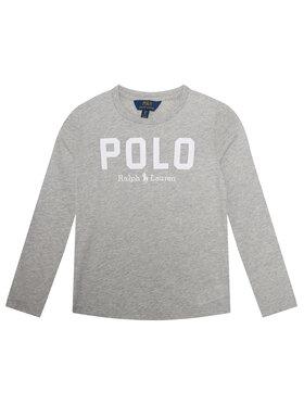 Polo Ralph Lauren Polo Ralph Lauren Μπλουζάκι 313806102002 Γκρι Regular Fit