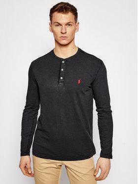 Polo Ralph Lauren Polo Ralph Lauren Marškinėliai ilgomis rankovėmis Lsl 710790058001 Juoda Regular Fit